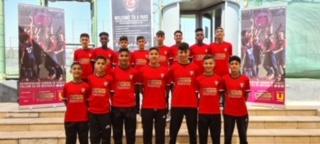"""أمنية ترعى فريق """" 6 يارد"""" للناشئين في كرة القدم الفائز بالمركز الثالث في بطولة تركيا الدولية"""