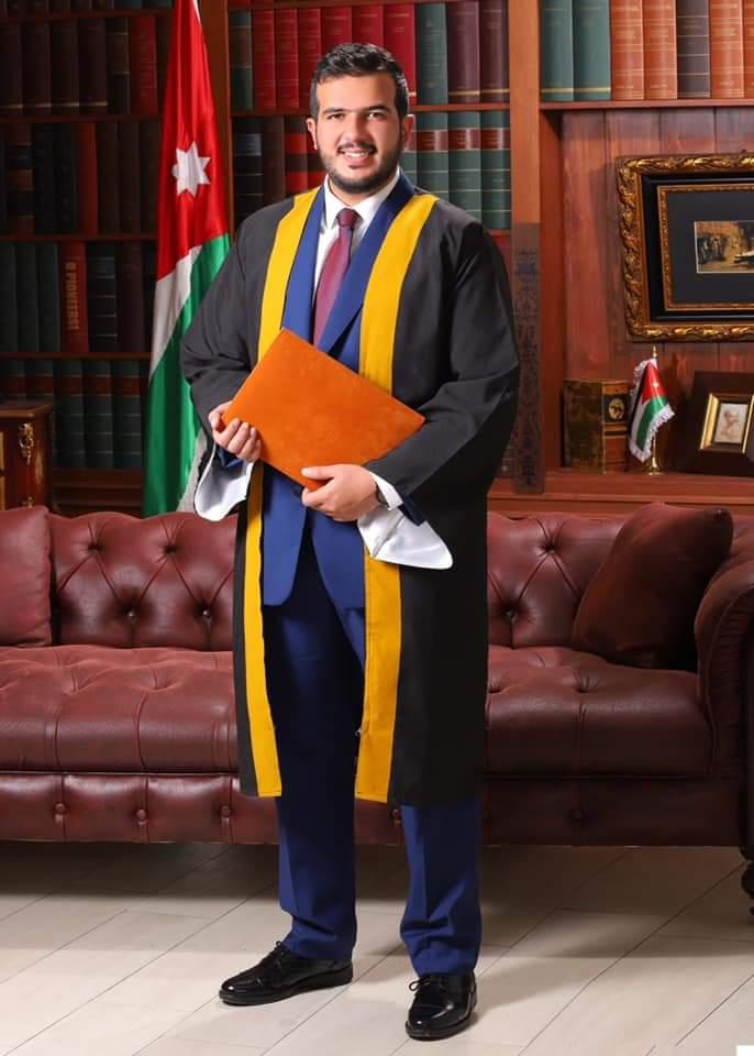 طارق سعد شهاب العبادي الف مبارك التخرج