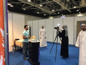 جامعة عمان الاهلية تشارك في مسقط بمعرض مؤسسات التعليم العالي