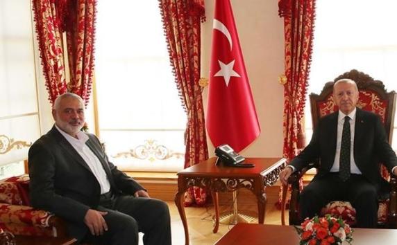 هنية: سأناقش مع أردوغان ترسيم الحدود البحرية بن تركيا و فلسطين