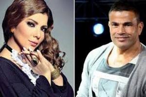أصالة مستاءة من عمرو دياب لرفضه طلبها !!