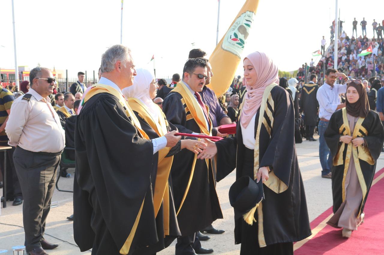 جامعة الحسين بن طلال تحتفل بتخريج الفوج التاسع عشر من طلبتها
