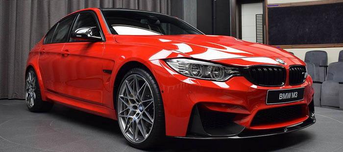 بالصور ..  تعرف على BMW M3