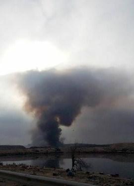 مادبا: شكاوى من دخان عمليات حرق النفايات في مكب المحافظة
