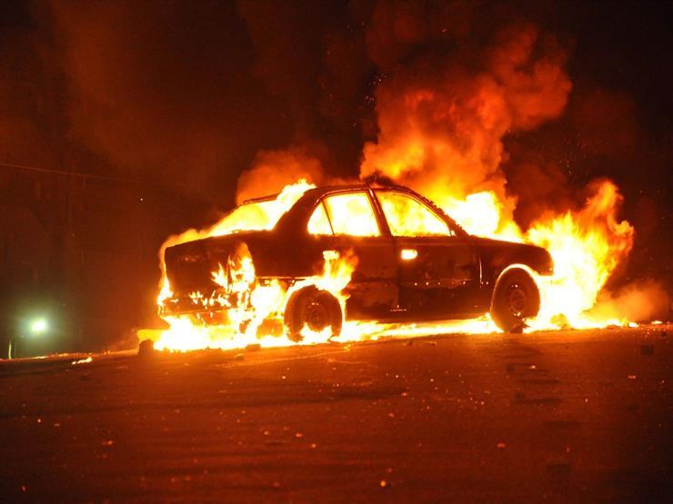 الكرك :مجهولون يحرقون مركبة أمام منزل صاحبها ويلوذون بالفرار