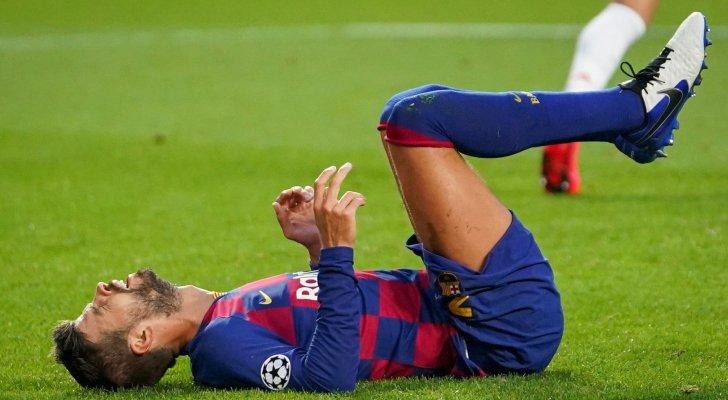 برشلونة يتلقى صدمة بسبب مدة غياب بيكيه