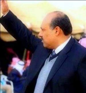 شيوخ ووجهاء وابناء منطقة الازرق يؤازرون المرشح فيصل الاعور