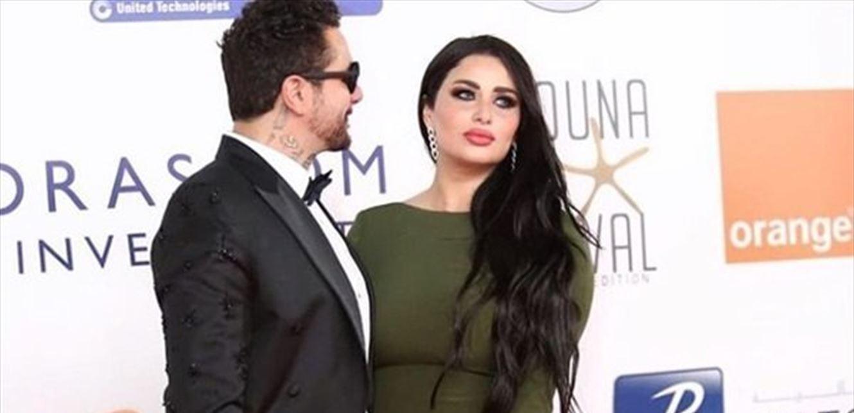 """أحمد الفيشاوي يخرق أجواء """"كورونا"""" برسالة وصورة لزوجته"""
