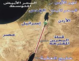 مسؤولون إسرائيليون : ناقل البحرين مع الاردن سيعزز الاستيطان