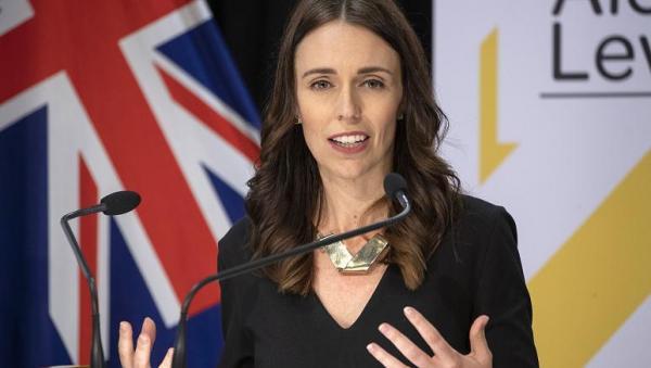 بيع لوحة رسمتها رئيسة وزراء نيوزيلندا مقابل 12 ألف دولار  ..  صورة