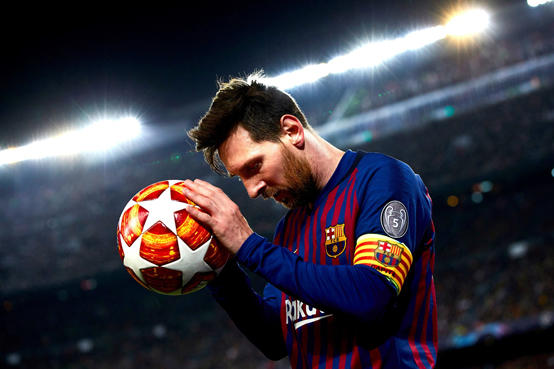 برشلونة يفرض سرية تامة على عقد ميسي