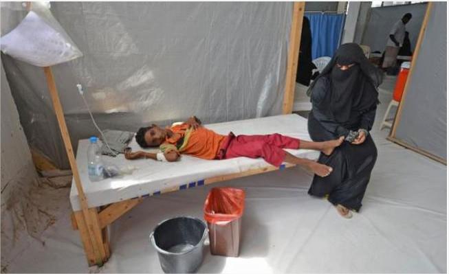 حالات الكوليرا باليمن قد تصل لمليون بنهاية العام