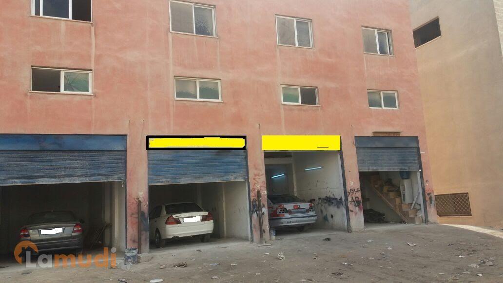 مجمع مؤجر تجاري صناعي للبيع بسعرشقة (105 الف)امكانية قبول ارض او سيارة جزء من الثمن