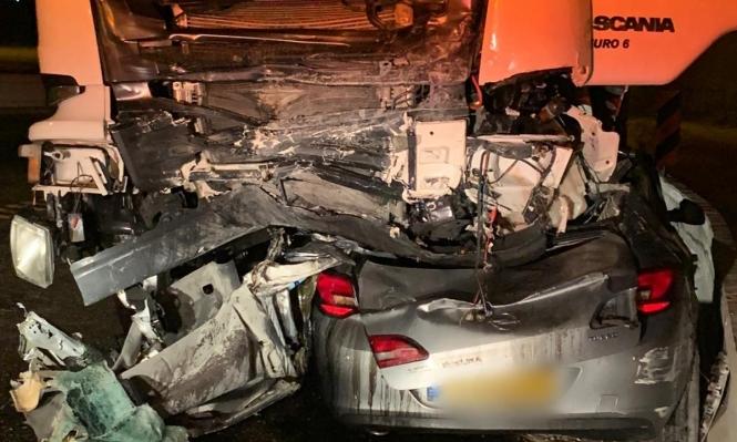 بالصور  ..  مصرع شخصين في حادثي طرق قرب الناصرة وأريحا