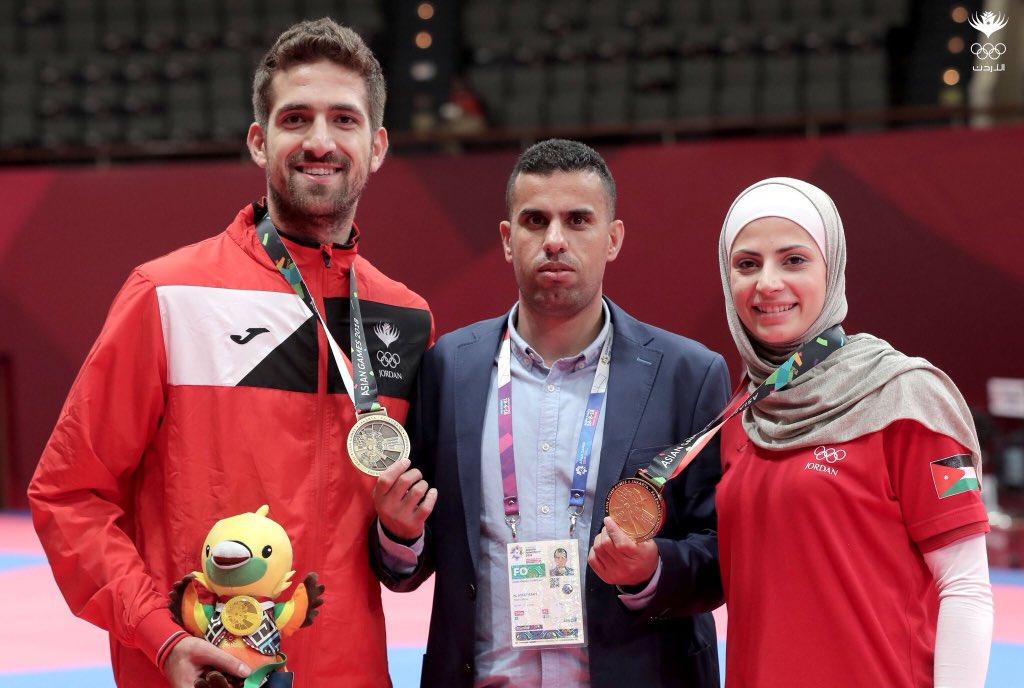 قطان يتوج بالميدالية البرونزية في منافسات التايكواندو بدورة الألعاب الآسيوية (صور)