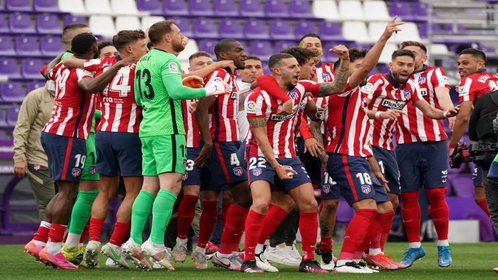 أتلتيكو مدريد يحقق لقب الدوري الإسباني للمرة الـ 11 في تاريخه