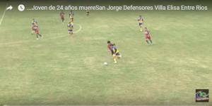 بالفيديو.. لحظة وفاة لاعب أرجنتيني بـ''ضربة في الرأس''
