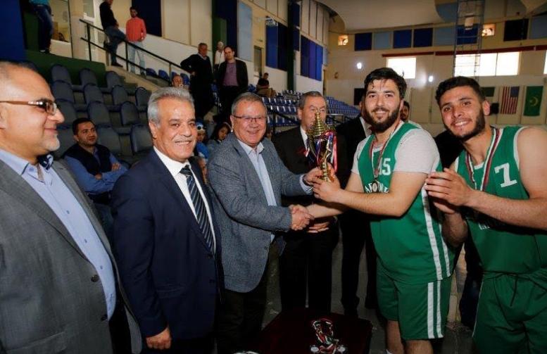 اليرموك أولا والبترا ثانيا في بطولة الجامعات لكرة السلة