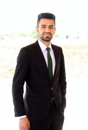 إبراهيم أحمد الطراونة  ..  مبارك الماجستير