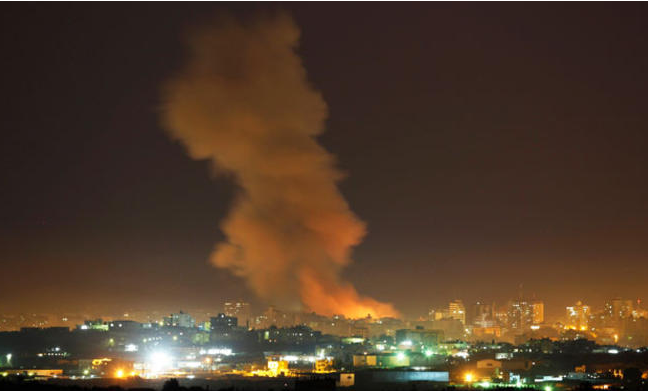 شهيدان و3 إصابات بغارات إسرائيلية على قطاع غزة