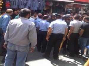إربد: توقيف 20 شخصاً من أصحاب البسطات أغلقوا شوارعاً رئيسية