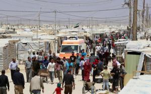الازرق: التحقيق بوفاة طفلة سورية اختناقآ في مخيم اللاجئين السوريين