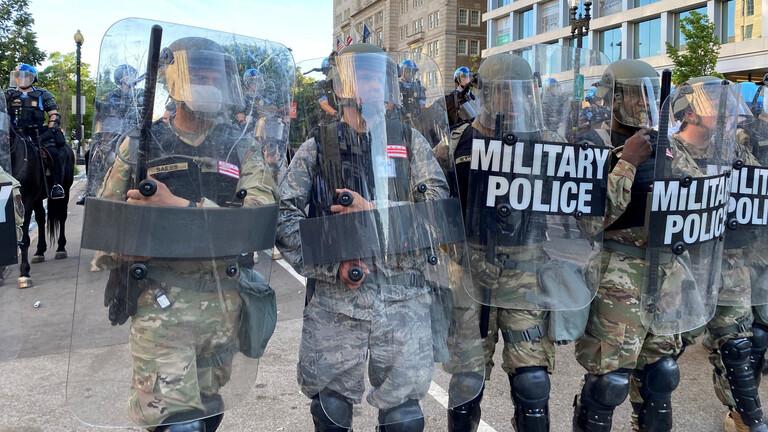 إصابة مؤكدة بكورونا في صفوف الحرس الوطني الأمريكي في مينيسوتا و الاشتباه في 9 آخرين