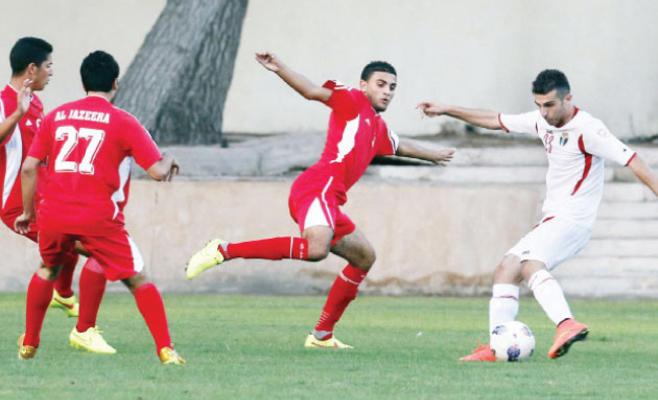 المنتخب الأولمبي يواجه شباب الأردن وديا بالكرة اليوم
