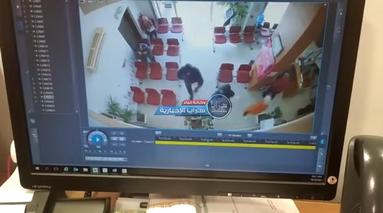 """بالفيديو  ..  """"سطو مسلح"""" على """"بنك فلسطين"""" بجنين"""