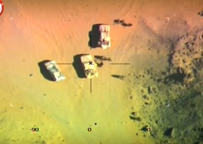 بالفيديو ..  لحظة تحرير ضابط برتبة نقيب في الجيش المصري من قبضة داعش