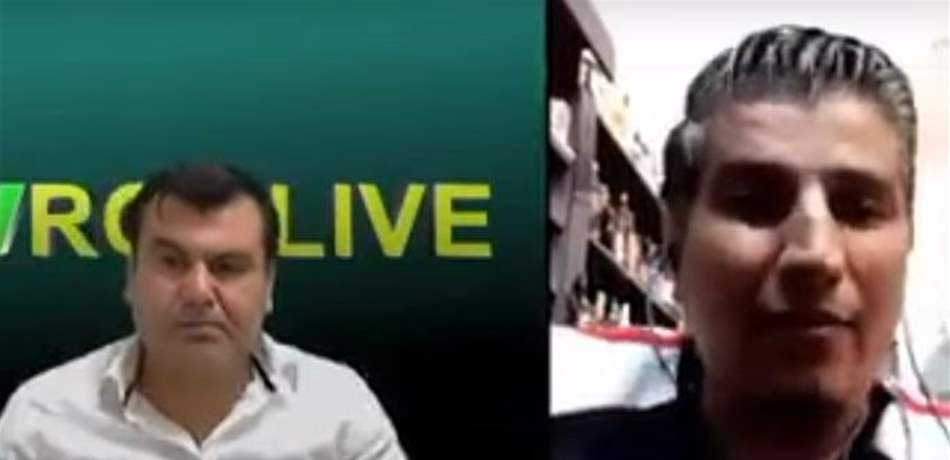 بالفيديو  ..  دماء على الهواء مباشرة ..  شاهدوا كيف أُطلقَ النار على لاجئ سوري  أثناء مقابلة تلفزيونيّة