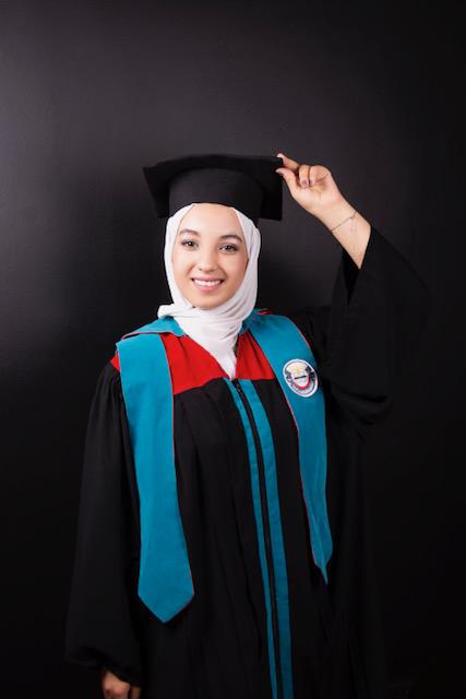 عرين أسد غوانمه  ..  مبارك التخرج