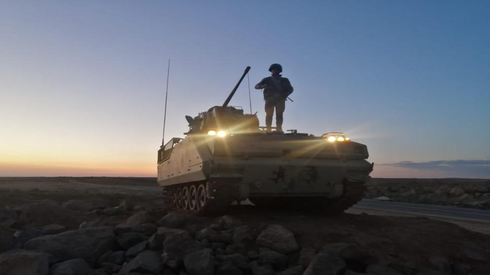 إحباط تسلل وتهريب مخدرات من سوريا إلى الأردن