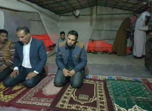 """امام اهل الخير: مصلون يلجأون لاداة الصلاة في """"الخيمة"""" منذ 5 سنوات بالكرك.. منظر لا يقبل به مسلم """"صور"""""""