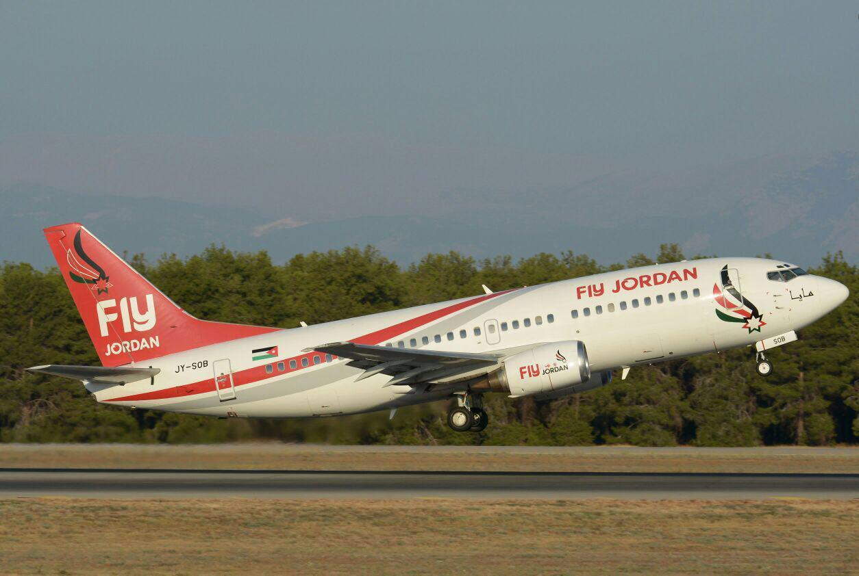 هبوط اولى طائرات فلاي جوردن في مطار تونس
