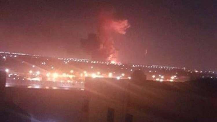 سماع صوت انفجار وحريق في محيط مطار القاهرة .. فيديو