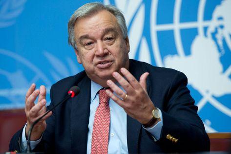 الأمين العام للأمم المتحدة يستشهد بآية قرآنية.. ما هي؟