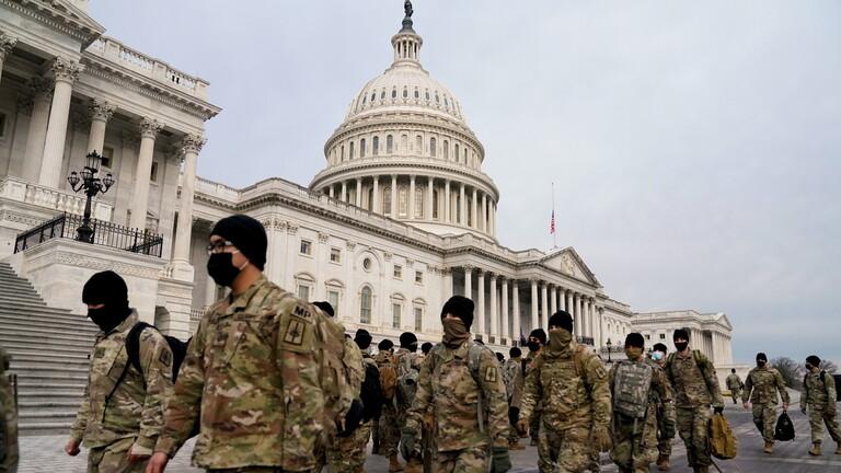 تكليف الحرس الوطني الأمريكي بتعبئة ما يصل إلى 15 ألفا من القوات لتأمين تنصيب بايدن