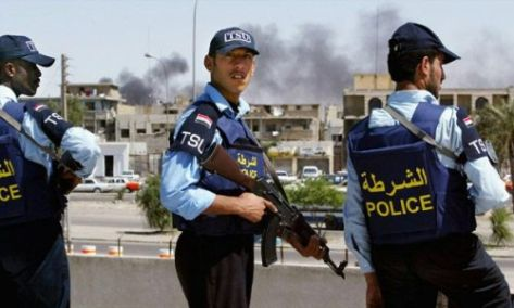 الشرطة العراقية تقبض على 22 شرطياً عراقياً !!