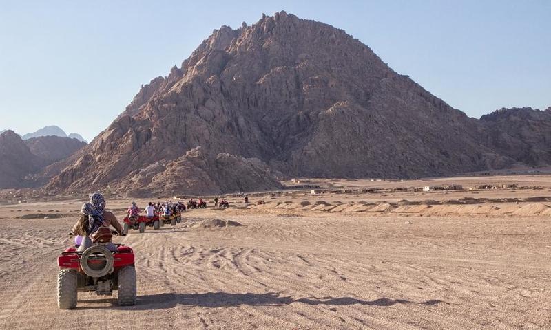 بالصور ..  السياحة في مصر: جنوب سيناء وجهة المغامرين