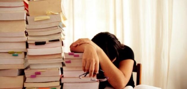 لا استطيع الدراسة !!