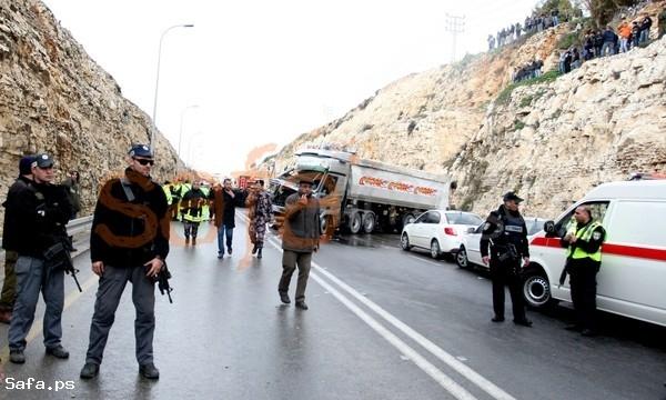 وفاة وخمسة جرحى بحادث سير شمال رام الله