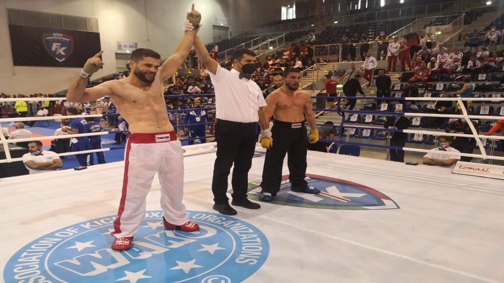 تأهل 3 اردنيين لربع نهائي العالم في الكيك بوكسينج