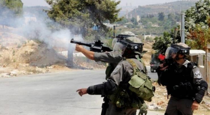 إصابات بالاختناق خلال اقتحام الاحتلال مدينة رام الله