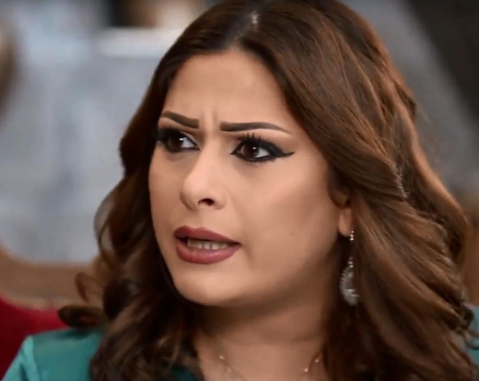 طلاق الفنانة السورية زوجة العقيد معتز