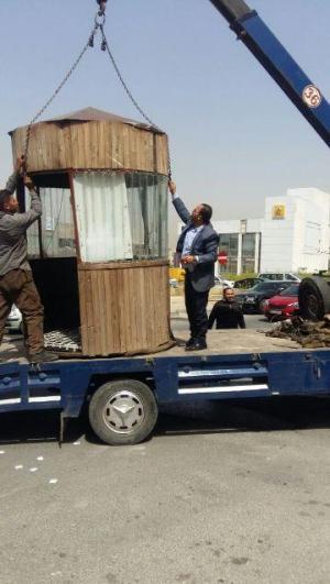 """بالصور : حملة في الوسط التجاري في الصويفية لازالة خدمة """"الفاليت """""""