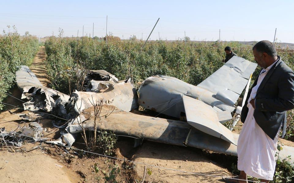 التحالف: إسقاط طائرتي درون أطلقهما الحوثي تجاه جازان