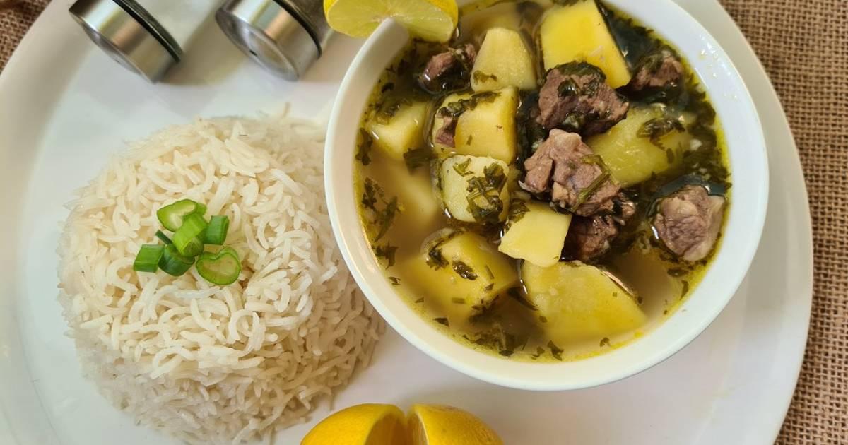 بطاطا ع ايدامها أو بطاطا بالمرقة  ..   اكلة فلسطينية تراثية   ..  فيديو