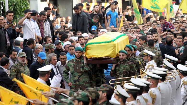 حزب الله يشيع مصطفى بدر الدين ..  ونعيم قاسم: لن نقبل بانتصار الكفر على الإيمان والمقاومة ستبقى حاضرة
