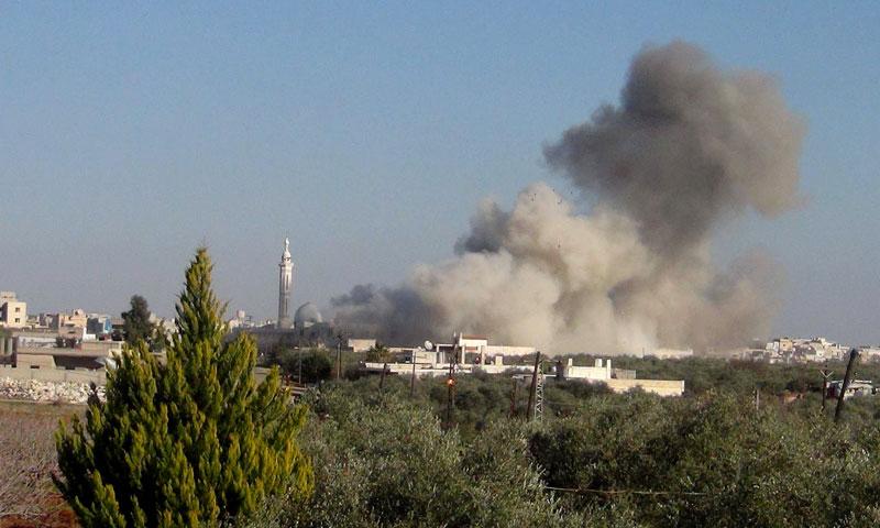سوريا ..  مئات الضربات الجوية على درعا بعد فشل المفاوضات